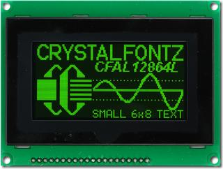 128x64  Parallel Graphic OLED (CFAL12864L-G-B4)