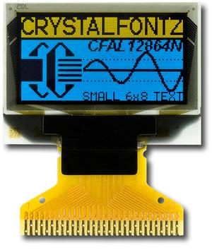 128x64 Graphic SPI OLED Display (CFAL12864N-A-B4)