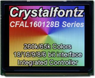 160x128 1 Parallel Graphic OLED (CFAL160128B-F-B2)