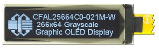256x64 Grayscale Graphic OLED (CFAL25664C0-021M-W)
