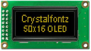 50x16 Graphic OLED Display (CFAL5016A-Y)
