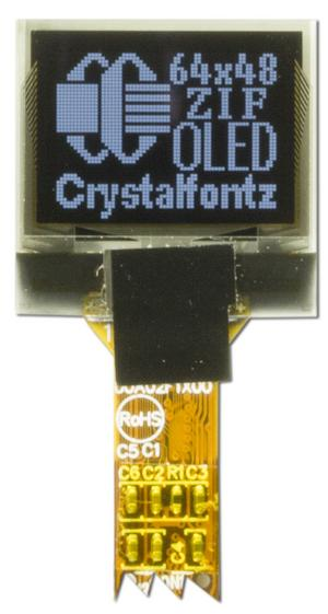 64x48 Small Graphic OLED (CFAL6448A-066BW)