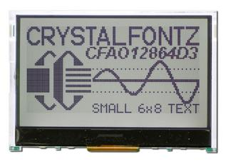 128x64 Graphical LCD Module (CFAO12864D3-TFH)