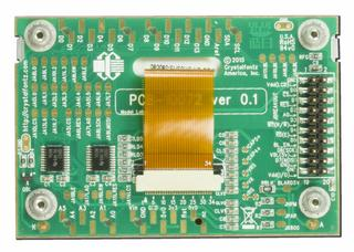 128x64 Graphic LCD Breakout Kit - Dark On Light Gray (CFAO12864D3-TFH-CB)