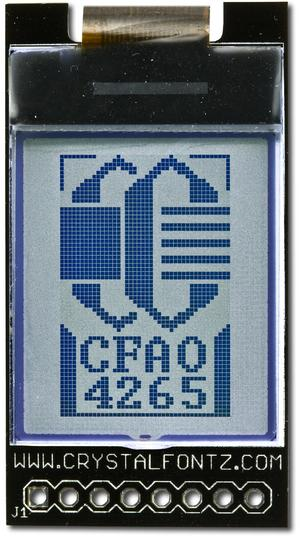 42 x 65 Graphic LCD with Carrier Board (CFAO4265A-TFK-CB)