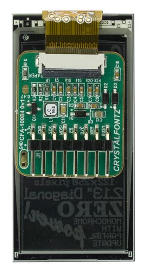 "2.13"" ePaper with Adapter Board (CFAP122250A0-E2-1)"