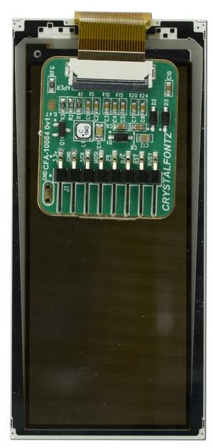 128x296 ePaper Display with Adapter Board (CFAP128296C0-E2-1)