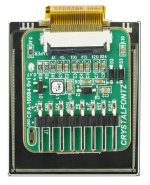 152x152 ePaper with Adapter Board (CFAP152152A0-E2-1)