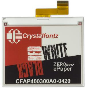 "4.2"" 3-Color ePaper Display (CFAP400300A0-0420)"