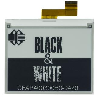 "4.2"" Black & White ePaper Display (CFAP400300B0-0420)"