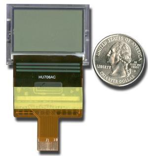 Tiny 128x64 SPI Graphic LCD (CFAX12864AP1-TFH)