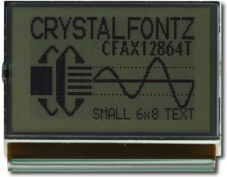 128x64 Transflective Graphical LCD (CFAX12864T1-NFH)