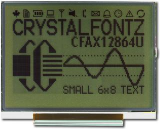Low Power 128x64 Graphic LCD (CFAX12864U1-NFH)