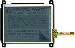 320x240 Resistive Touch Screen LCD (CFAX320240DX-TFH-T-TS)