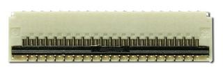 39 Position, 0.30mm Pitch, Gold, FPC FFC ZIF connector (CS030Z39G-A0)